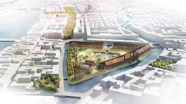 Государственная экспертиза одобрила проект реновации острова Новая Голландия в Петербурге