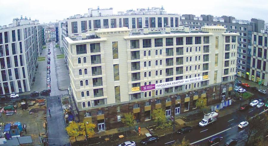 ДК «Созвездие» сдает в эксплуатацию ЖК «Николаевский Ансамбль» в Центральном районе Петербурга