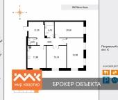 Продать Квартиры в новостройке Петровский пр-кт  9-11