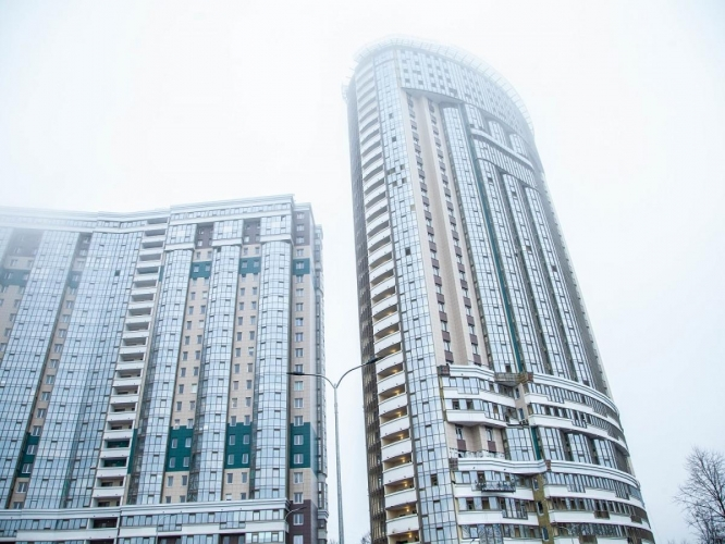 Введена жилая башня «Петр Великий» в Усть-Славянке