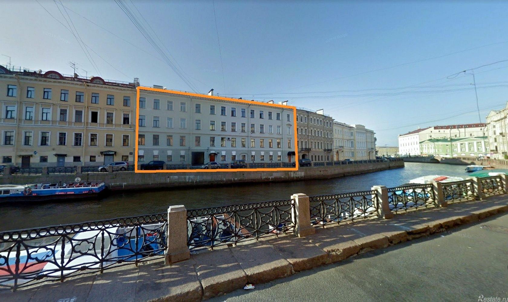 Продать Квартиры вторичка Санкт-Петербург,  Центральный,  Адмиралтейская, Реки Мойки наб