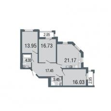 Фото планировки Дом на набережной от Северный город. Жилой комплекс