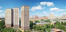 ЖК «Родной город» на месте бывшей промзоны «Октябрьское поле» достроят за два года