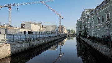Строительство здания Мариинки – 2 завершено