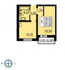 Фото планировки Цветной город от ЛСР. Недвижимость - Северо-Запад. Жилой комплекс