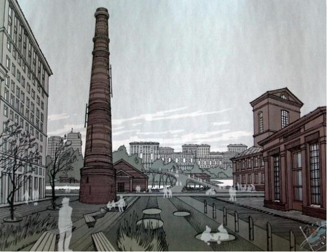 Проект жилой застройки промзоны завода «Пластполимер» на Охте обсудят на публичных слушаниях