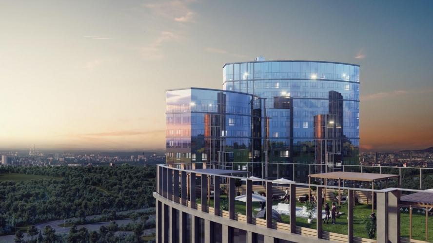 «Лидер-Инвест» открыла продажи во втором корпусе высотного ЖК «Крылья»
