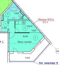 Фото планировки Радужный от Изодом. Жилой комплекс Raduzhnyj
