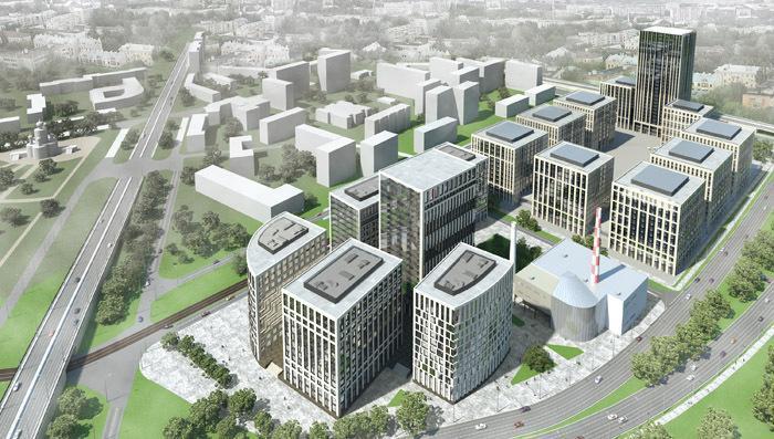 ГК  ПИК построит многофункциональный комплекс на западе Москвы