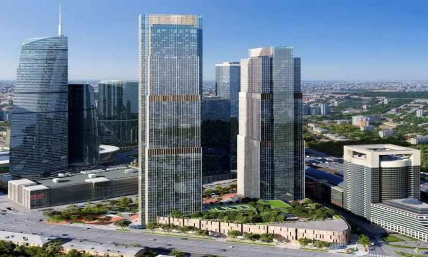 В «Москва-Сити» стало на один небоскреб больше
