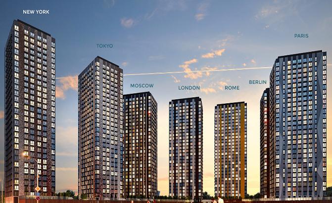 MR Group открыла продажи в корпусах «Токио» и «Лондон» в ЖК «Метрополия»