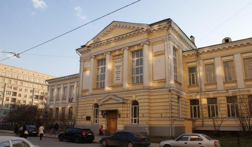 Историческое здание Первого меда в Хамовниках капитально отремонтируют