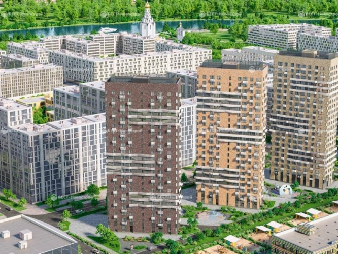 Стартовали продажи второй очереди ЖК «Город на реке Тушино-2018» - на рынок выведены кварталы 3 и 4