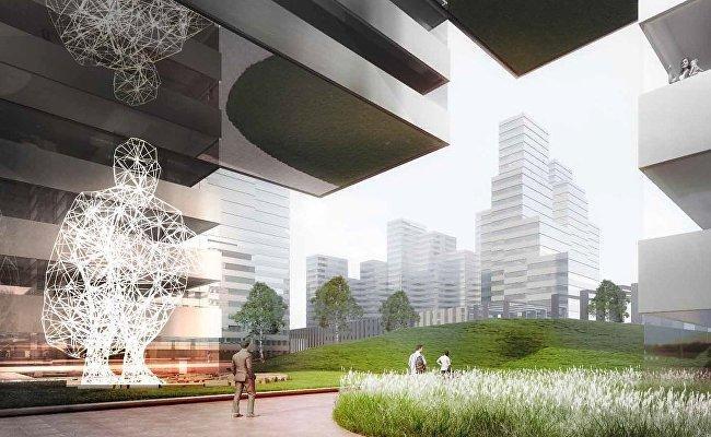 «Альтиус девелопмент» построит МФК на Кутузовском проспекте по проекту Kengo Kuma & Associates