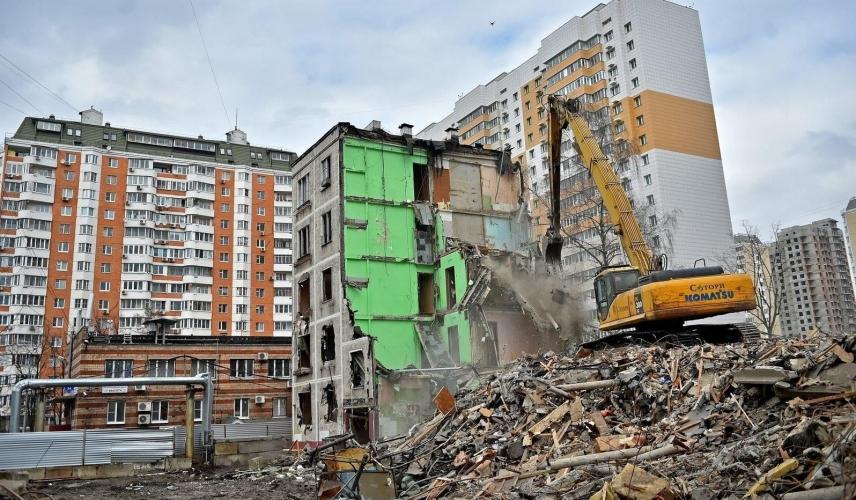 В Черемушках расселили первый дом в рамках программы реновации