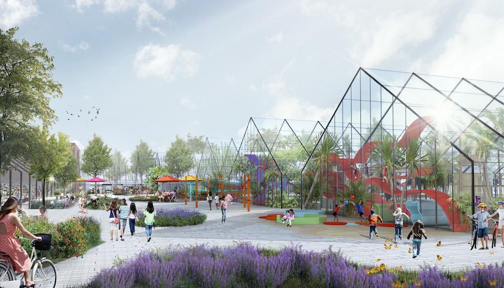 Новый центр притяжения: в Петербурге преобразят постройки Таврического сада