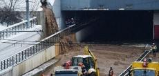 До 1 апреля дамба над Тушинским тоннелем будет восстановлена