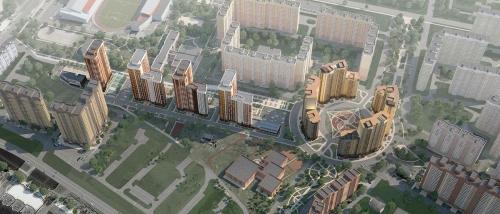 ЖК Центральный от компании Долгопрудненская строительная компания