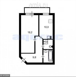 Продажа 1-комн квартиры на вторичном рынке Металлистов пр-кт ,  д. 15