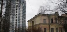 """Власти Петербурга запретили компании """"Строительный трест"""" строить высотный дом на проспекте Тореза"""