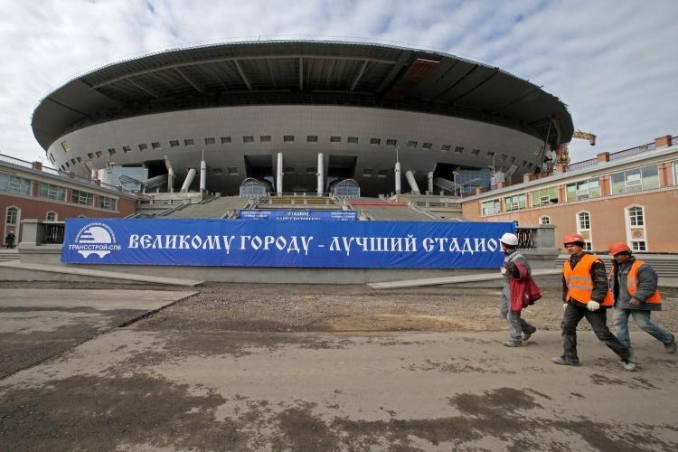 Комитет по строительству Петербурга меняет экспертов на строительстве стадиона «Зенит Арена»