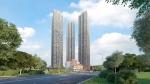 В небоскрёбах «Пресня Сити» ведётся монтаж общественных зон