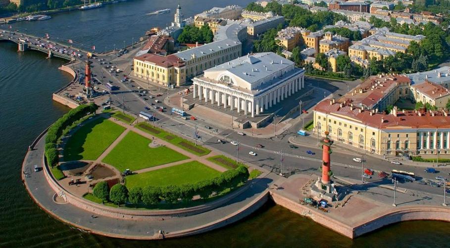 Строительство в центре Петербурга идет на спад