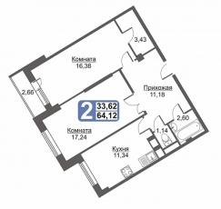 Фото планировки Жилой дом на Красных Военлетов от Сити Инвест Строй. Жилой комплекс