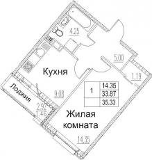 Фото планировки Modum от Арсенал-недвижимость. Жилой комплекс Модум