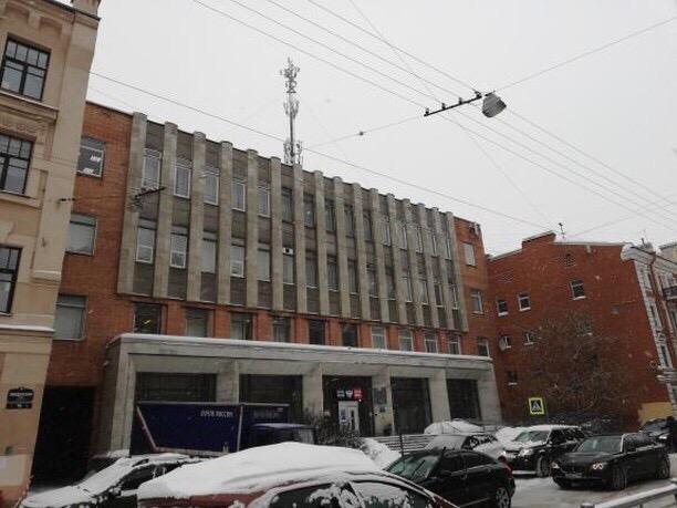 С почтамта на Введенской исчезла ретро-вывеска «Почта. Телеграф. Телефон»