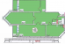 Планировка ЖК «Центральная усадьба», 73.4 м2