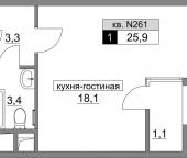 Продать Квартиры в новостройке ул. Родниковая, уч. 17, корпус 2  2