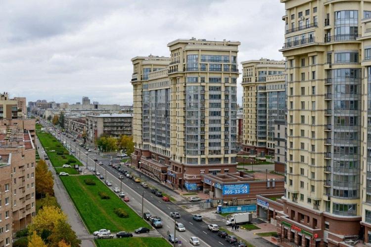 В августе больше всего жилья построили в Московском районе