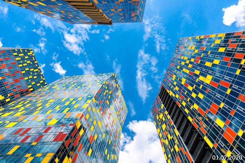 Фото ЖК Sky House от Capital Group. Жилой комплекс Ски Хаус