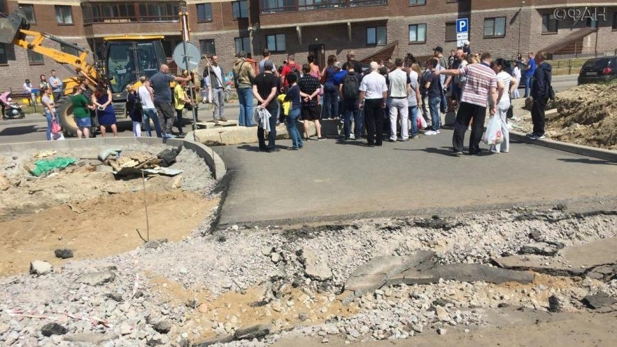 Спорная дорога между ЖК «Новая Охта» и «Новое Мурино» - вне закона