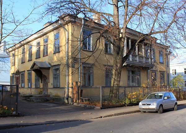 Дом в центре Пушкина, где жил Толстой, реконструируют под музей