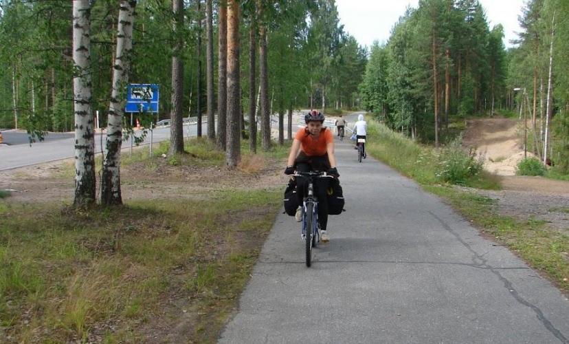 К 2021 году между Светогорском и Иматрой проляжет велострасса