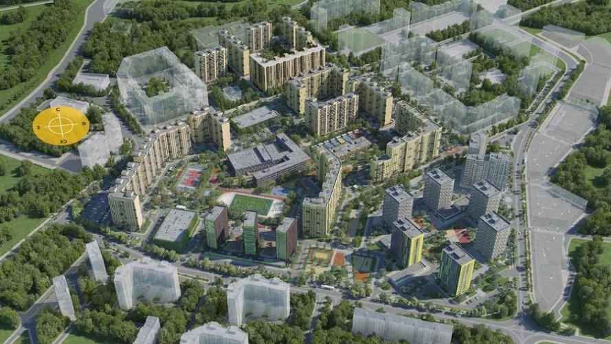 Скоро начнется строительство пяти новых корпусов ЖК «Новое Медведково» в Мытищах