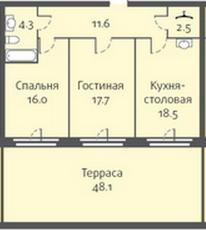 Фото планировки Николаевский Ансамбль от Созвездие. Жилой комплекс