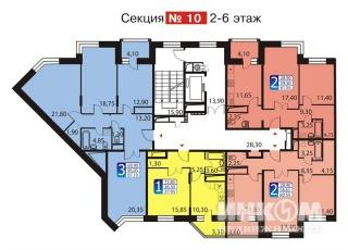 Фото планировки Загорье от Мосфундаментстрой 6. Жилой комплекс