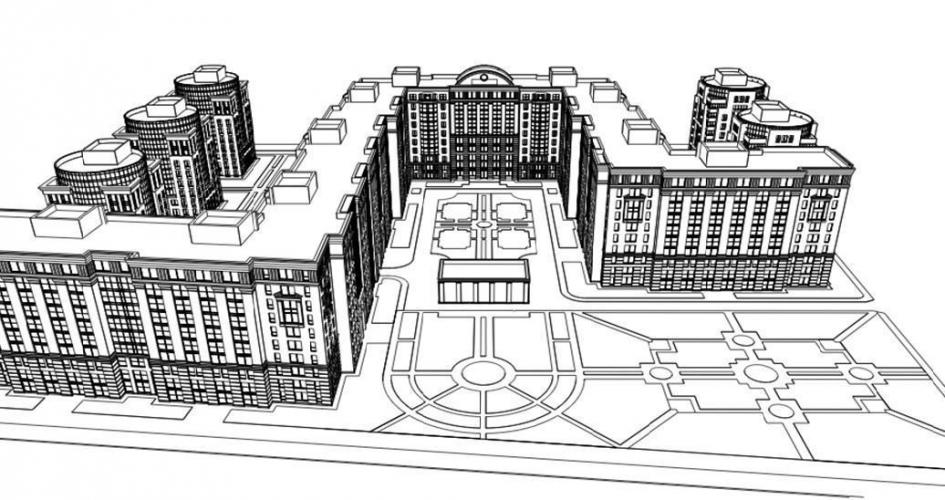 Проект реновации кварталов Нарвской заставы в Кировском районе Петербурга стартует в 2017 году
