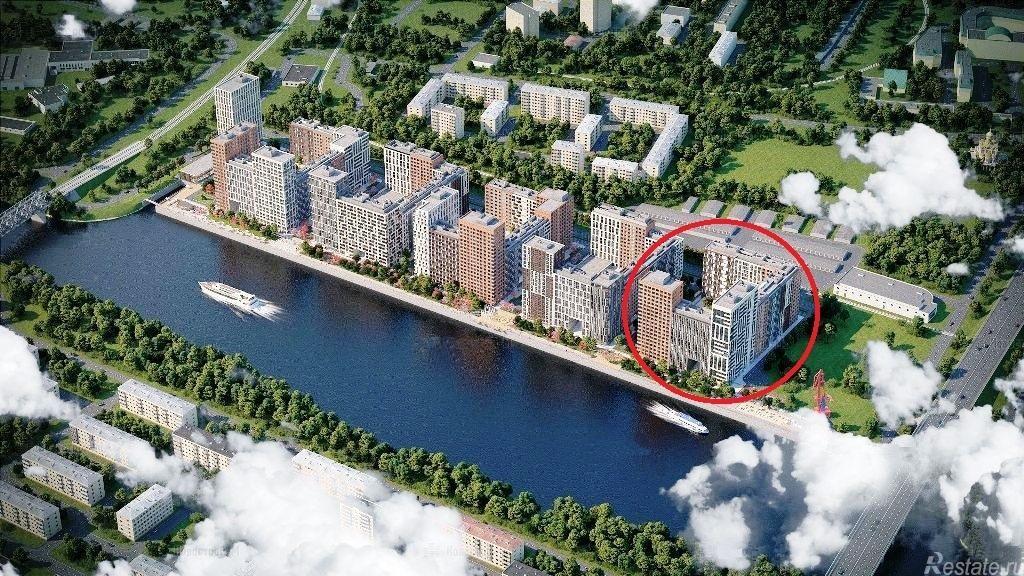 Продать Квартиры в новостройке Москва,  Филевский парк,  Фили, Заречная ул