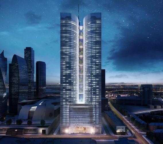 ГЗК Москвы согласилась с увеличением количества этажей с 50 до 62 в строящемся небоскребе «Grand Tower» комплекса «Москва-Сити»