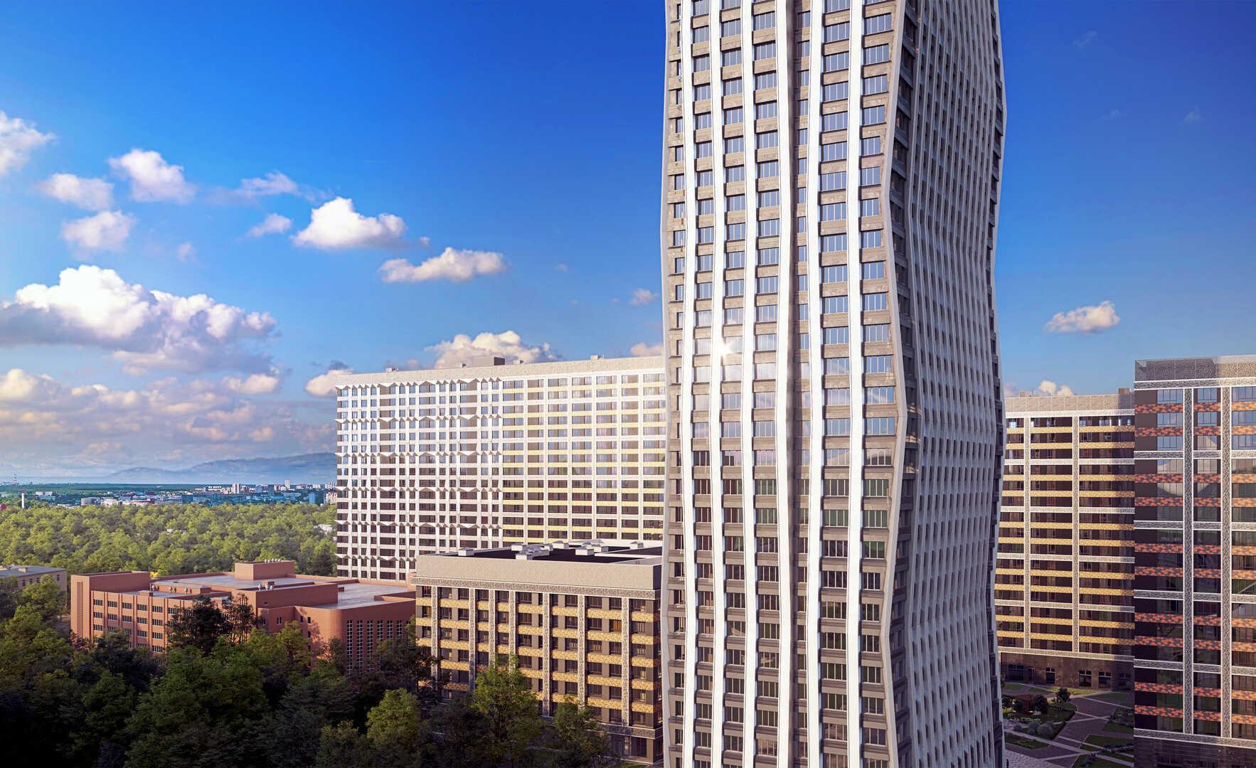 Фото ЖК AFI Tower
