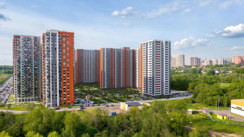 Фото ЖК Митинский лес от ПИК. Жилой комплекс