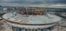 Смольный расторгает контракт с генподрядчиком стадиона на Крестовском