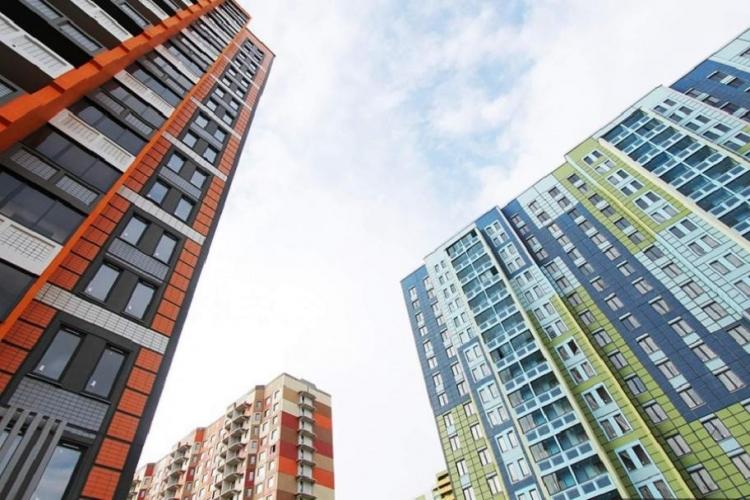 За июнь 2017 года в России построено 6,4 млн кв. м жилья – на 6,6% меньше показателя за аналогичный период 2016 года