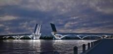В Петербурге начали проектировать новый мост через Неву