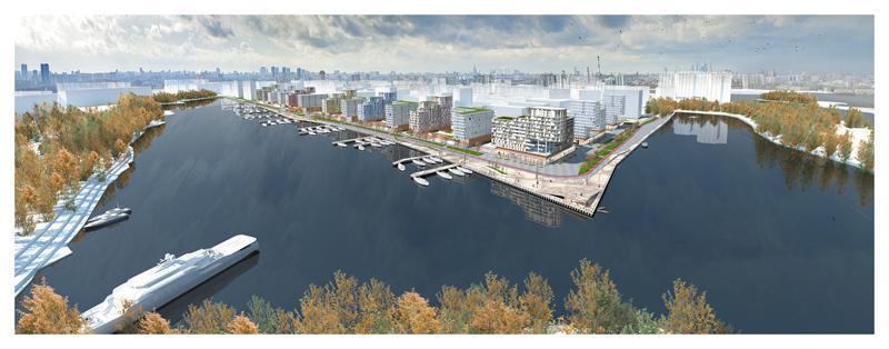 """Право благоустраивать квартал """"Ривер Парк"""" получила компания T+T Architects"""