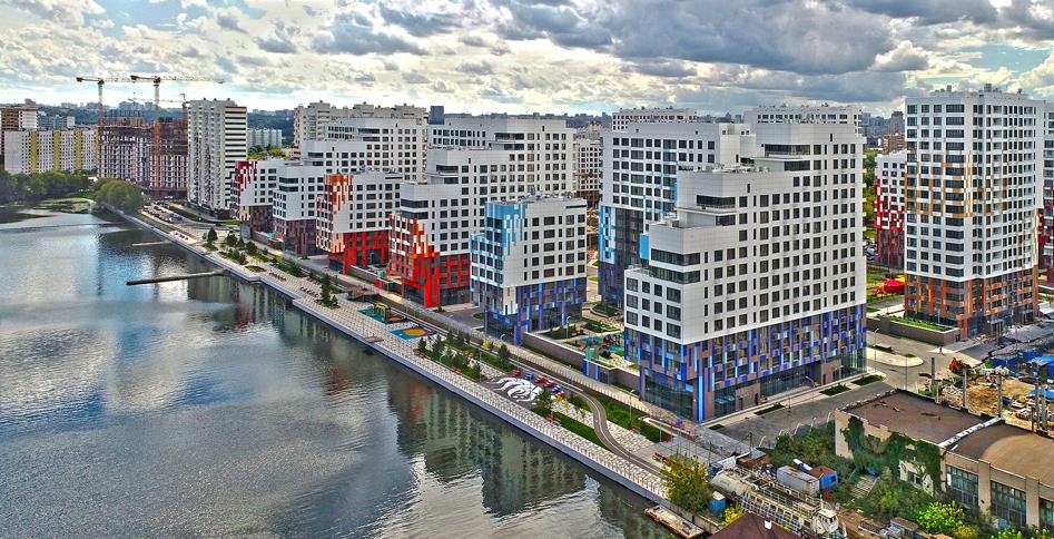 В проекте «Ривер Парк» открыты продажи апартаментов